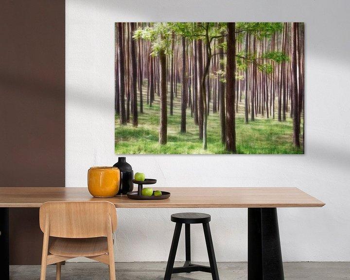 Sfeerimpressie: Bomen in het groen van Marcel van Balken