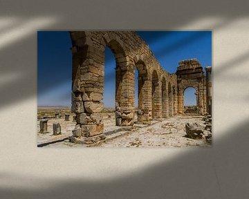 Volubilis, ville romaine de l'Atlas central sur Easycopters