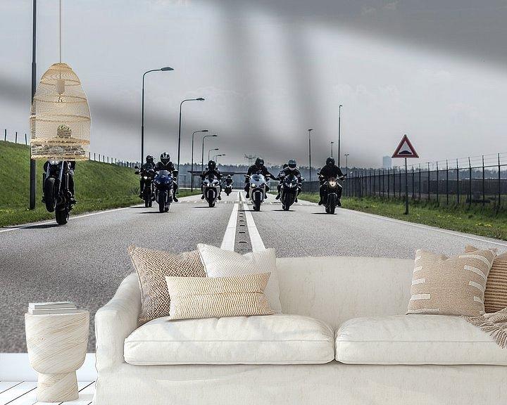 Beispiel fototapete: Motorcycle crew holland von Westland Op Wielen