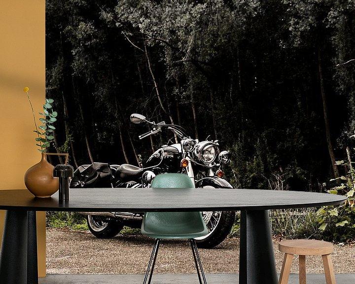 Beispiel fototapete: Yamaha XV 1600 Wildstar von Westland Op Wielen
