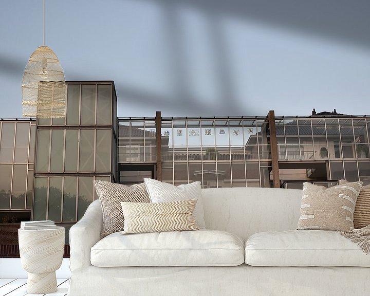 Sfeerimpressie behang: fabriek  naar woningen_best_0510 van H,M SOETENS