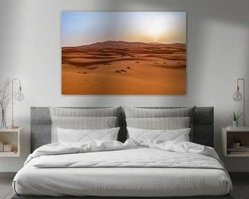 Zonsopkomst in de Sahara