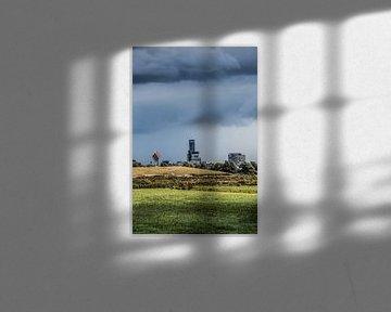 Blick auf Leeuwarden von Ritsumazijl aus von Harrie Muis