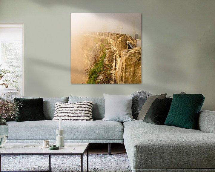 Sfeerimpressie: Nevelmuur van Floris van Woudenberg