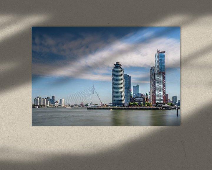 Sfeerimpressie: Rotterdam Kop van Zuid van Bart Hendrix