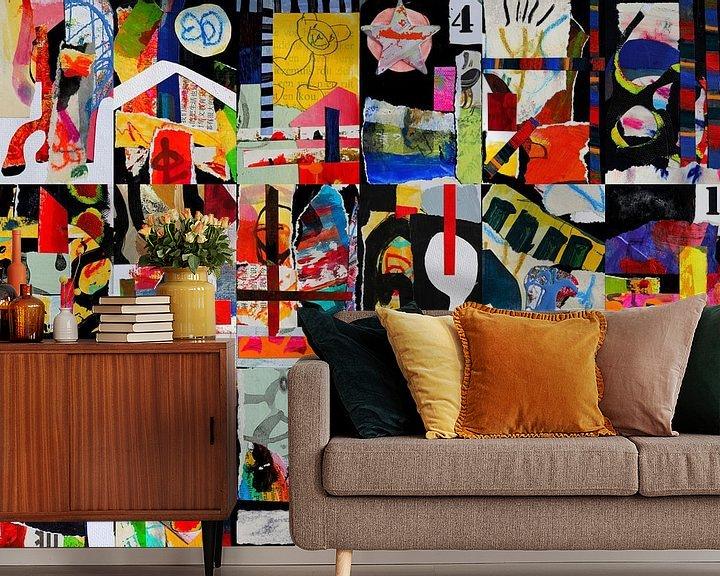Beispiel fototapete: Collage von Ina Wuite