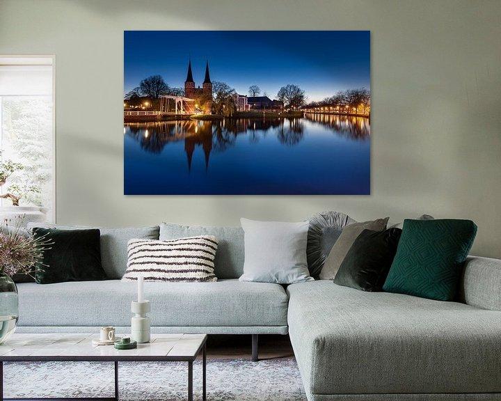 Sfeerimpressie: Delft, Oostpoort van Tom Roeleveld