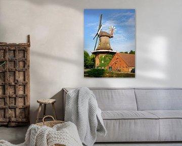 Steenblocks Mühle in Spetzerfehn von Gisela Scheffbuch