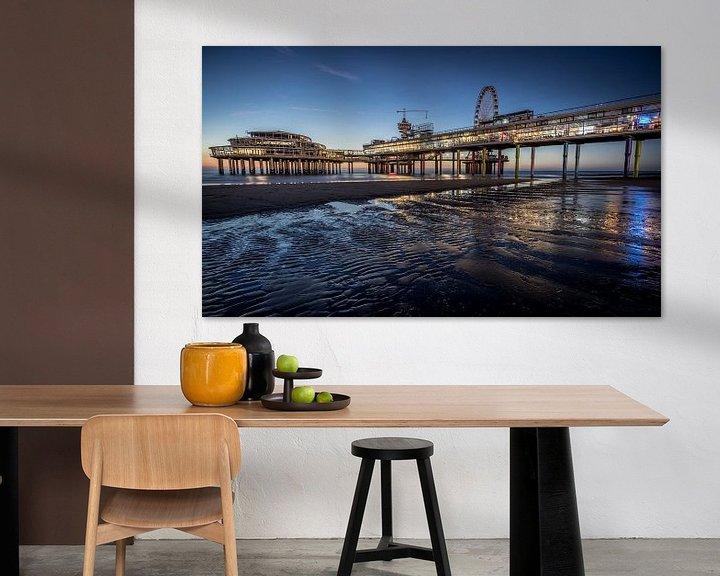 Sfeerimpressie: De Pier in Scheveningen (Den Haag). van Claudio Duarte