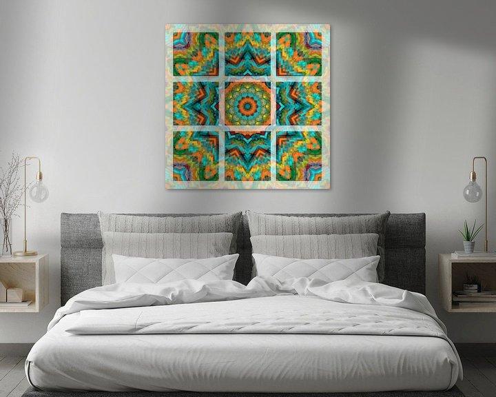 Sfeerimpressie: Kleurrijk Mandala van Marion Tenbergen