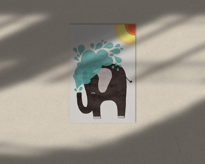 Beispiel: Wasserelefant von treechild .