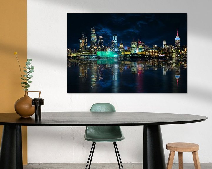 Impression: Skyline Manhattan de Hoboken sur Jan van Dasler