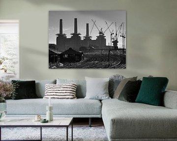 Centrale électrique de Battersea sur David Bleeker