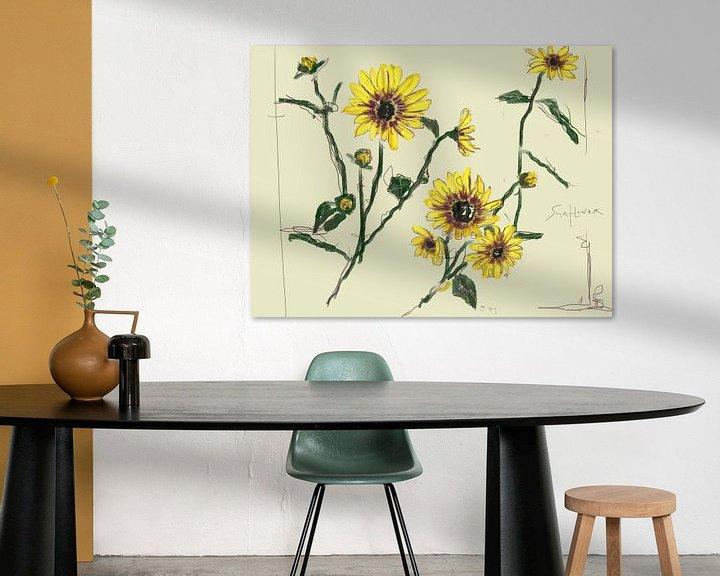Sfeerimpressie: Sunflower Madness van Go van Kampen