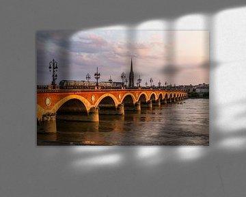 Le Pont Jacques Chaban Delmas in Bordeaux van Easycopters