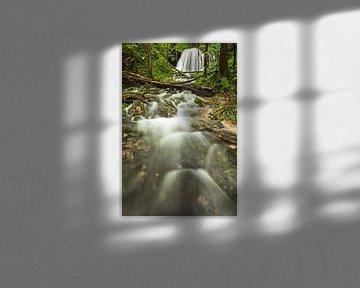 Wasserfall auf der Schwäbischen Alb von Jiri Viehmann