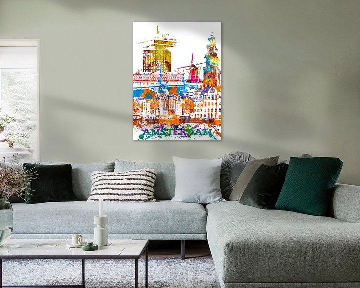 Sfeerimpressie: Amsterdam van Printed Artings