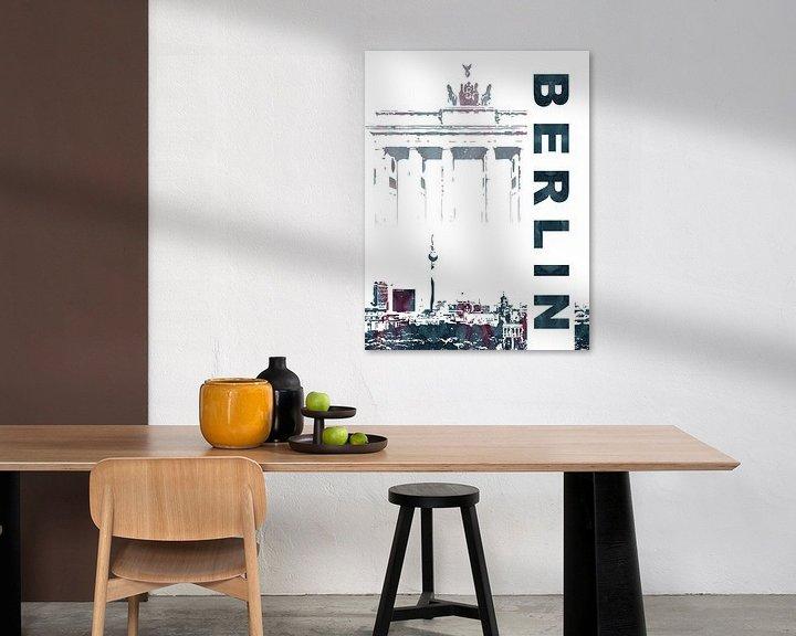Sfeerimpressie: Berlijn van Printed Artings