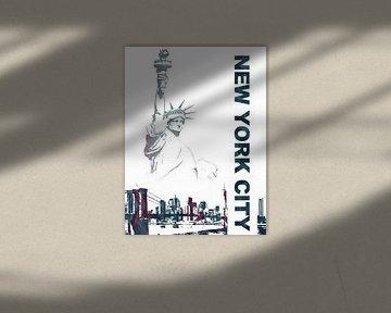 New York City von Printed Artings