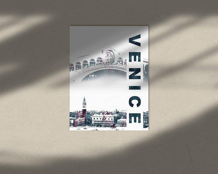Sfeerimpressie: Venetië van Printed Artings