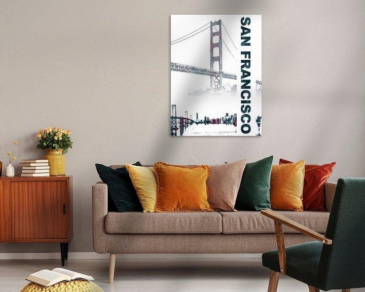 Sfeerimpressie: San Francisco van Printed Artings