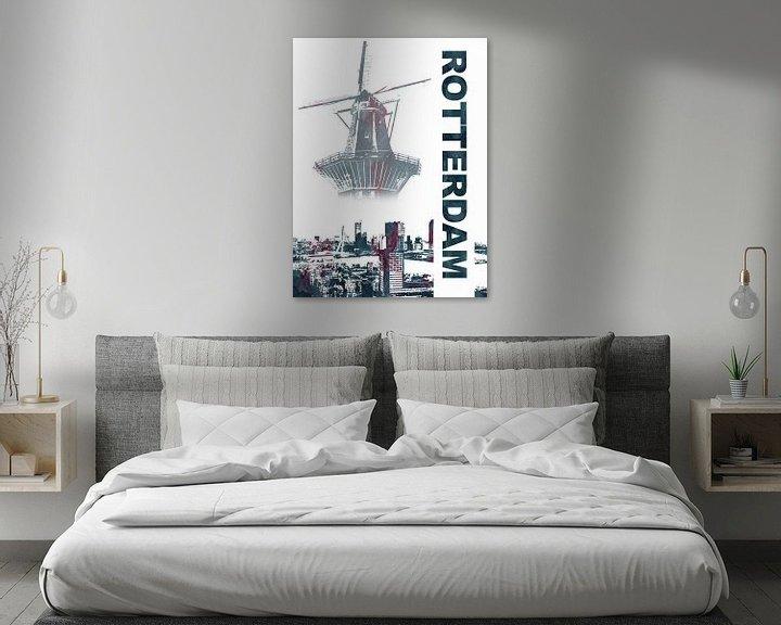 Sfeerimpressie: Rotterdam van Printed Artings