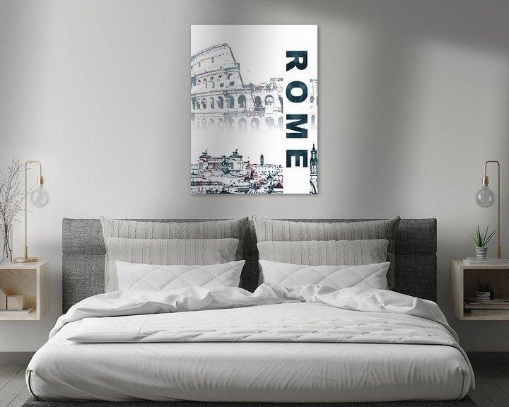 Sfeerimpressie: Rome van Printed Artings
