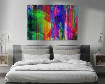 Abstract Liquid two van PictureWork - Digital artist