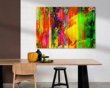 Abstract Liquid three van PictureWork - Digital artist