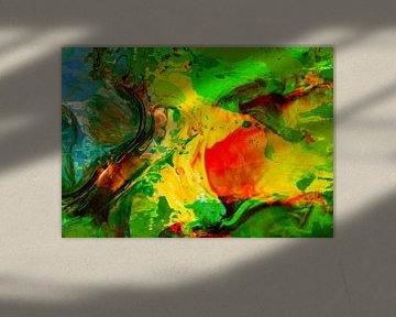 Abstract Liquid four van PictureWork - Digital artist