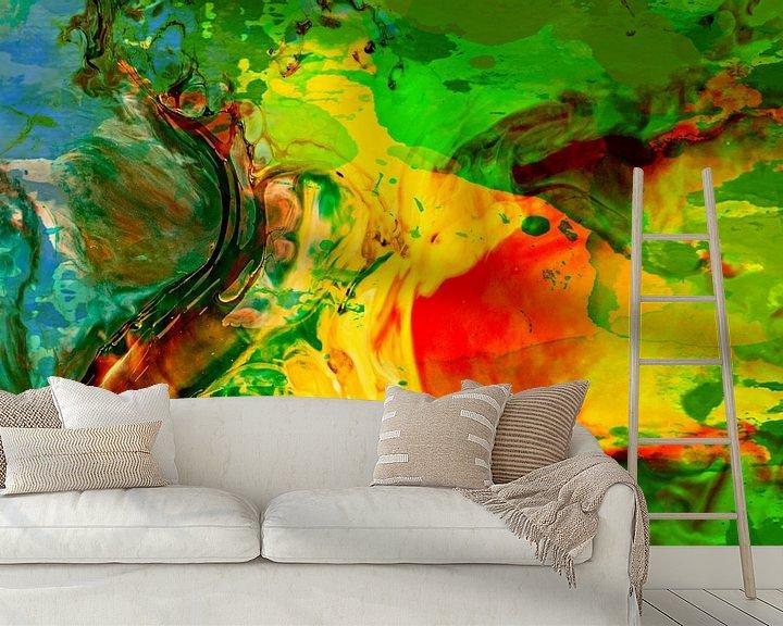 Beispiel fototapete: Abstrakt Liquid four von PictureWork - Digital artist