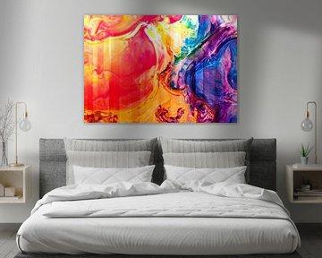 Abstract Liquid six van PictureWork - Digital artist