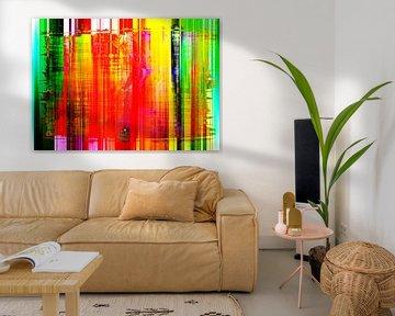 Abstract Liquid seven van PictureWork - Digital artist