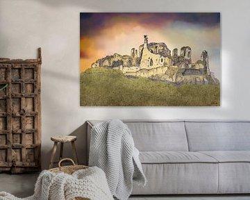 Schloss Valkenburg, Burgruine Valkenburg von Edo Illustrator
