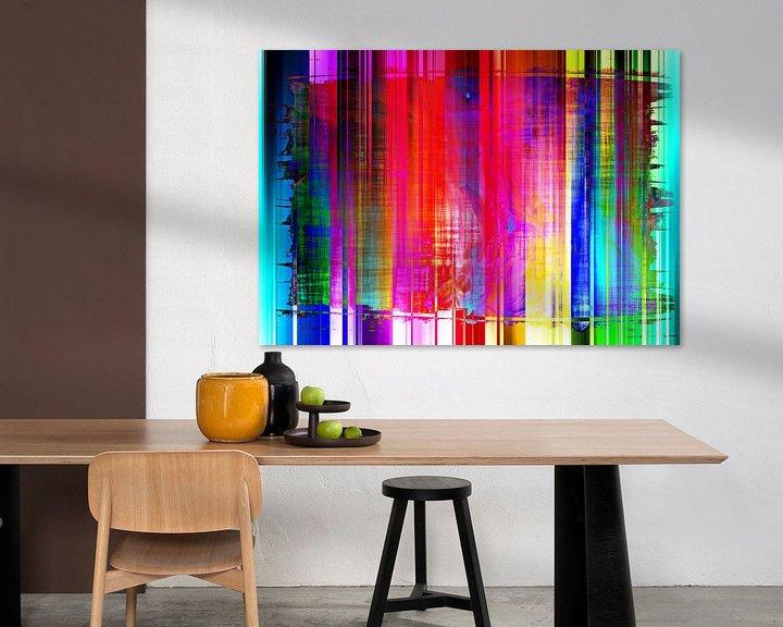 Sfeerimpressie: Abstract Liquid eight van PictureWork - Digital artist