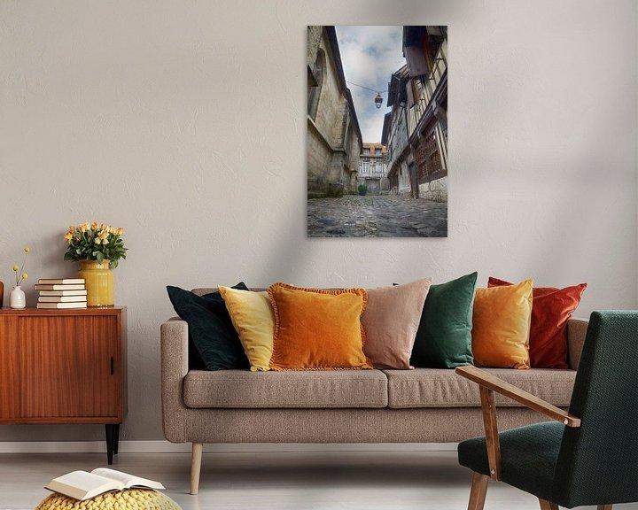 Beispiel: Straße in Honfleur von Mark Bolijn
