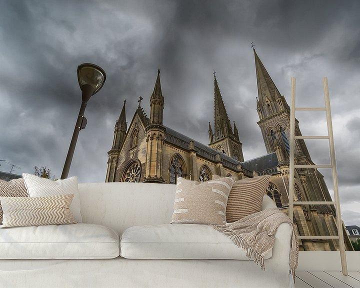 Beispiel fototapete: Basilika in der Normandie von Mark Bolijn
