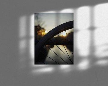 Amsterdam Sonnenuntergang von Phil Yisrael