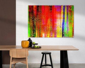 Abstract Liquid eleven van PictureWork - Digital artist