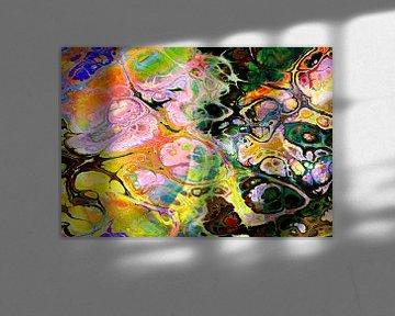 Abstract Liquid fourteen van PictureWork - Digital artist