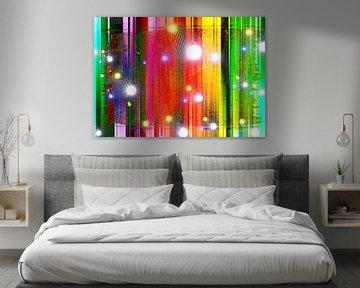 Abstract Liquid seventeen van PictureWork - Digital artist