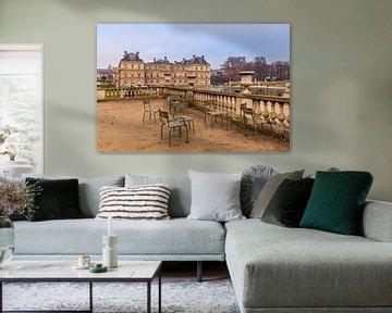 Terras met zicht op Palais du Luxembourg