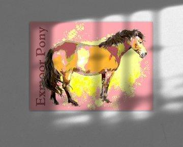 Exmoor Pony von Wilfried van Dokkumburg