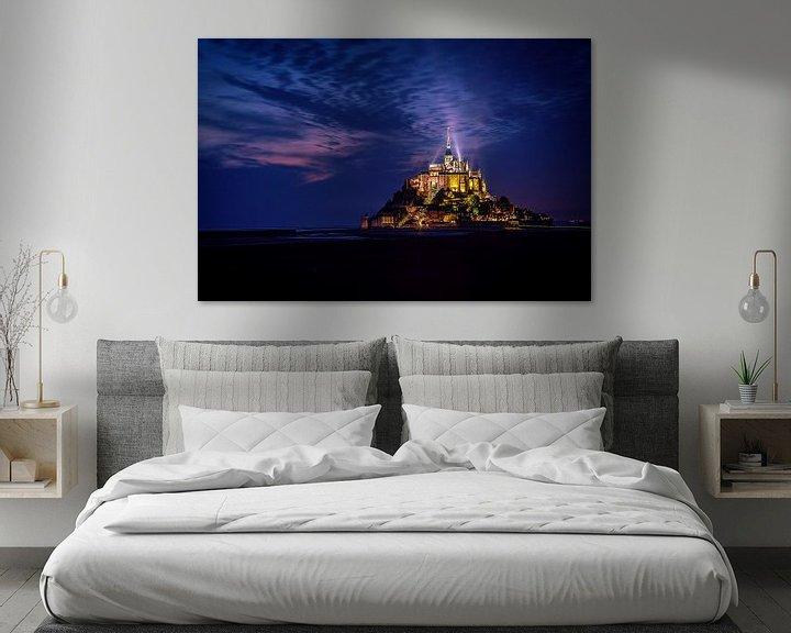 Sfeerimpressie: Majestic Mont St. Michel ..... van Robert Van Der Linde