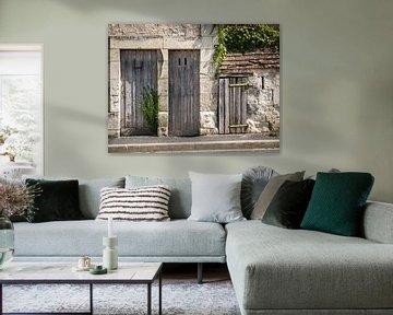 Oud Huis met Drie Deuren van Art By Dominic