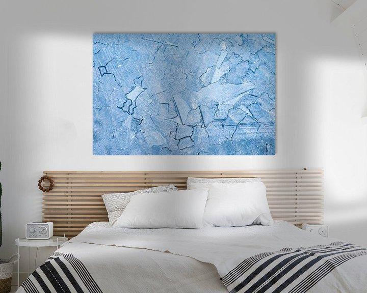 Sfeerimpressie: ijs abstract van Luuk Belgers