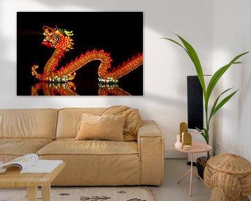 Chinese Draak van Wouter Kok