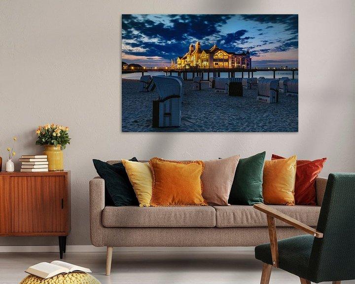 Beispiel: Sellin Pier, Rugen nach Sonnenuntergang von Evert Jan Luchies