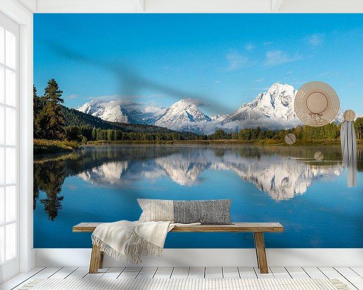 Sfeerimpressie behang: Grand Teton National Park van Luuk Belgers