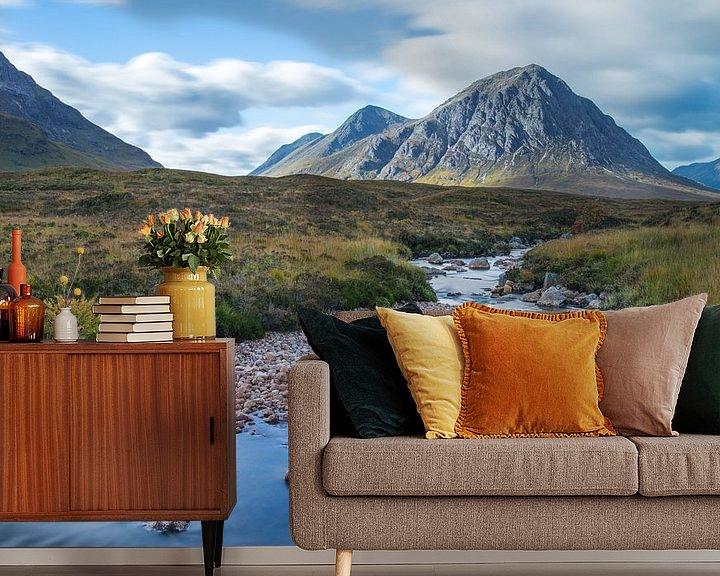Sfeerimpressie behang: Glencoe, Schotland van Luuk Belgers